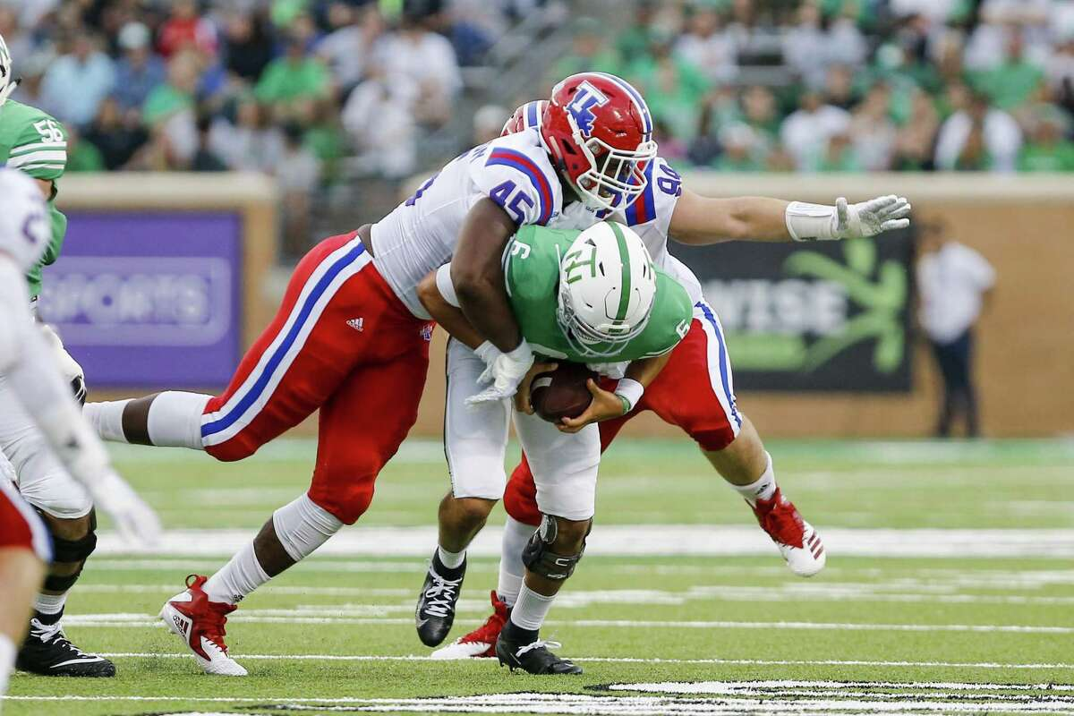 JAYLON FERGUSON, DE, LOUISIANA TECH The Seahawks biggest need is pass-rush help; someone that they can pair with Frank Clark. Louisiana Tech DE Jaylon Ferguson has the most impressive resume of any pass rusher at the 2019 Senior Bowl. He's an intriguing prospect who's stock has been rising. In a four-year career at Louisiana Tech, Ferguson (6 feet 5, 262 lb) set the FBS record for most sacks with 45.0. He had 17.5 of them as a senior. But Ferguson was also playing in Conference USA, so those numbers come with a grain of salt. He wasn't playing top-tier talent consistently. That's why his showing this week in Mobile, Ala., and squaring off against experienced tackles, is important for NFL personnel to see. Ferguson is projected to go late first round, so he could be available to Seattle with the 21st pick (should they keep it).