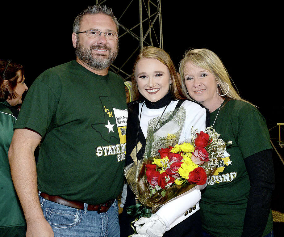 Derrick and Lauren Ewing and Denise Carpenter were at the Lumberton vs. Little Cypress-Mauriceville district game at LCM. Photo taken Friday, November 9, 2018 Kim Brent/The Enterprise Photo: Kim Brent/The Enterprise