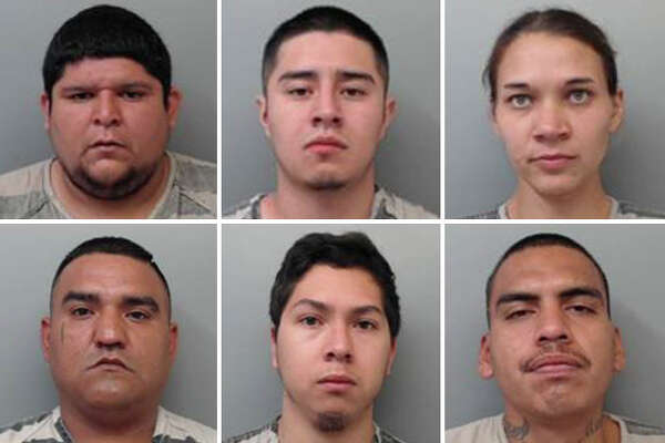 The Webb County Sheriff's Office made six arrests recently as part of its Operation GOTCHA.