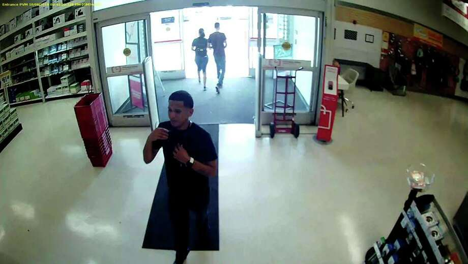 Authorities said this man stole a laptop from the Office Depot on 5718 San Bernardo Ave. Laredo police said the incident occurred on Oct. 11. Photo: Courtesy