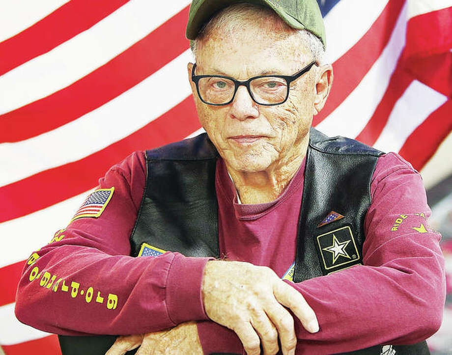 Alton resident and Patriot Guard member Fred Smith, a U.S. military veteran, is well known to people around the area who have seen his many flag displays in honor of veterans.