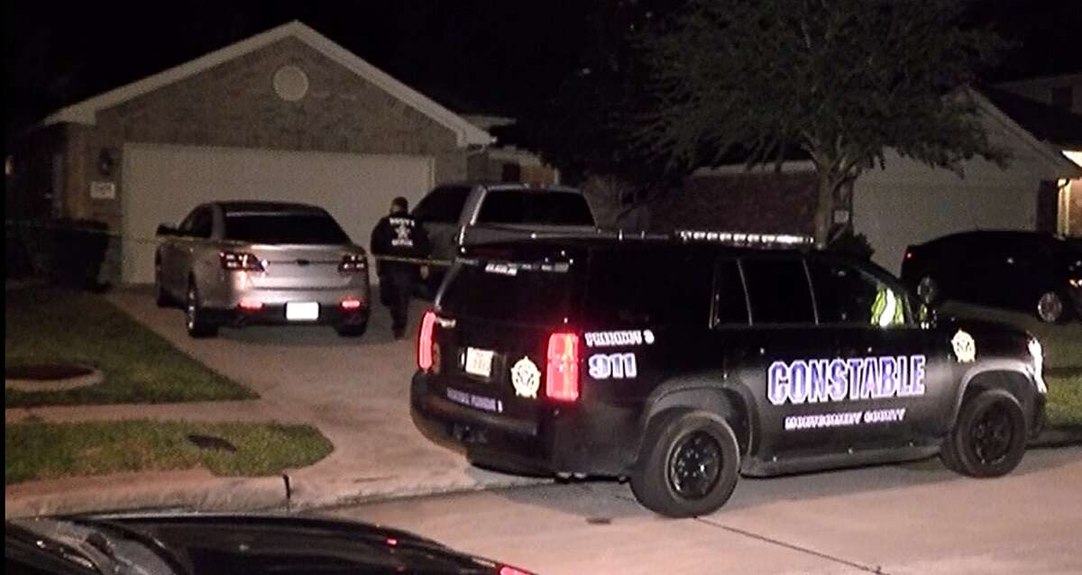 A man was killed Friday evening after police say his wife shot him during an argument at their Spring home.