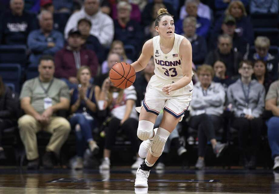 UConn senior Katie Lou Samuelson. (AP Photo/Jessica Hill) Photo: Jessica Hill / Associated Press / Copyright 2018 The Associated Press. All rights reserved