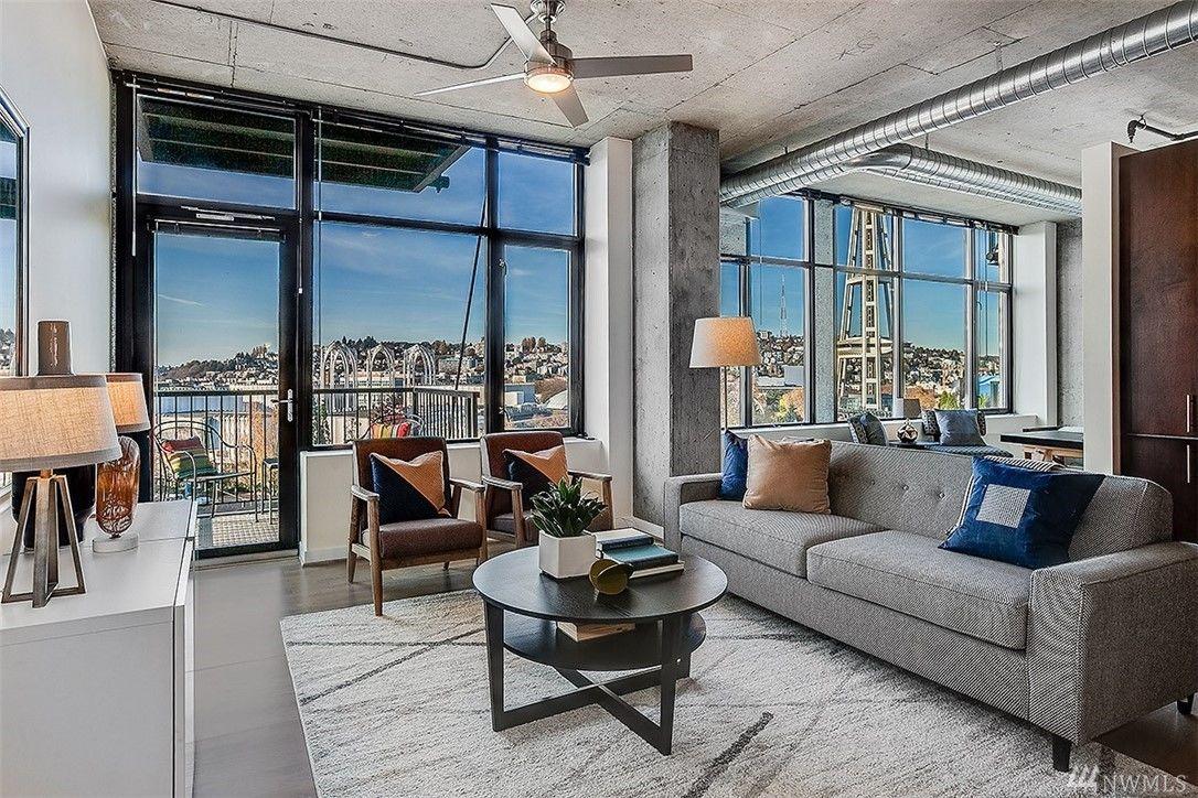 Modern Belltown beauty offers panoramic views
