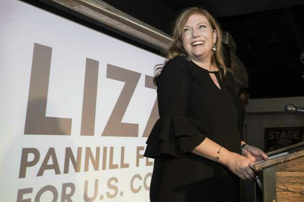 3a8566f25ae2 1of5Lizzie Pannill Fletcher smiles as results are announced in her race  against John Culberson for the 7th Congressional District seat in the House  of ...