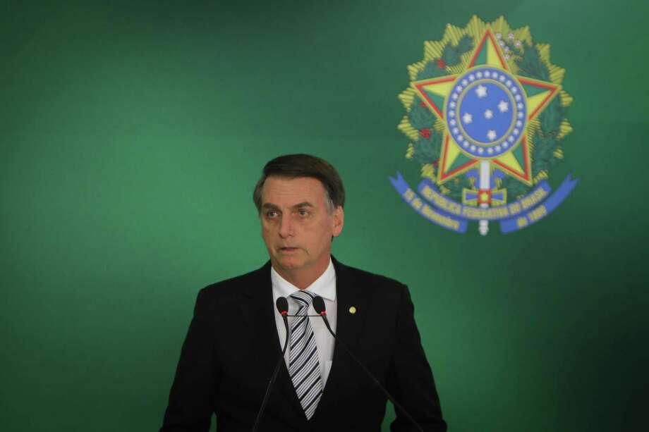 Bolsonaro Photo: Andre Coelho /Bloomberg / © 2018 Bloomberg Finance LP