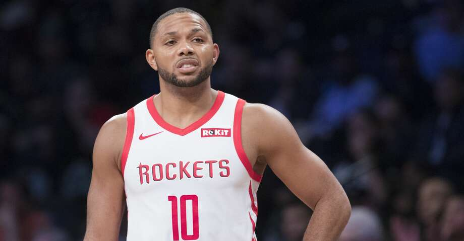a1dfaf87a048 PHOTOS  Rockets game-by-game Houston Rockets guard Eric Gordon pauses on the