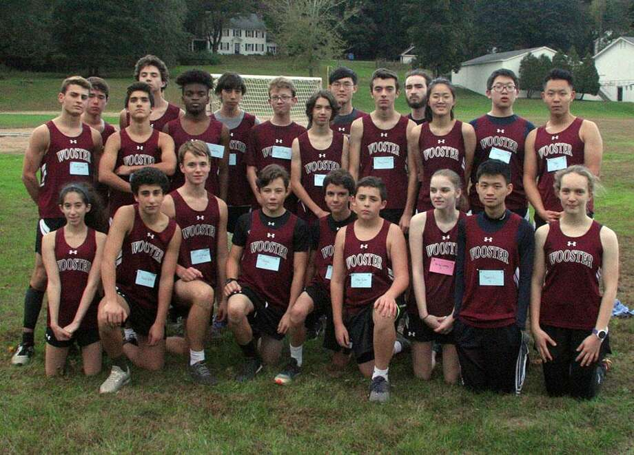 The Wooster boys and girls cross country teams recently concluded their season at the HVAL championships Photo: Contributed Photo