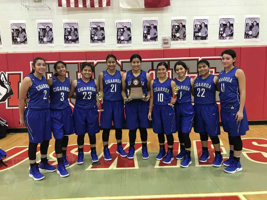 Cigarroa finished out the La Joya Packs Showcase tournament 2-0 to win the silver bracket. The Lady Toros took down Roma 50-26 and then Juarez-Lincoln 48-44 to come home with some hardware. Photo: Courtesy Of Cigarroa Athletics