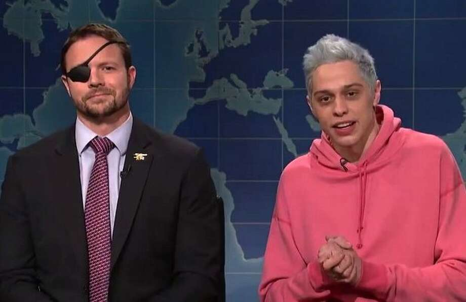On Saturday, Pete Davidson shared a cryptic Instagram post, insinuating he was contemplating suicide.Congressman-elect Dan Crenshaw of Texas reached out to Davidson more than a month after the SNL star mocked the appearance of the former Navy seal, who wears an eye patch after losing an eye in Afghanistan. >>> Click through to see Twitter reactions.