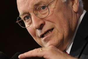 FILE -- In this June 1, 2009 file photo, former Vice President Dick Cheney speaks at the National Press Club in Washington. (AP Photo/Susan Walsh, File)