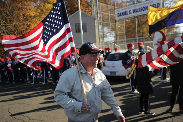 The annual Veterans Day Ceremony and Parade in Milford, Conn. on Sunday, November 11, 2018.