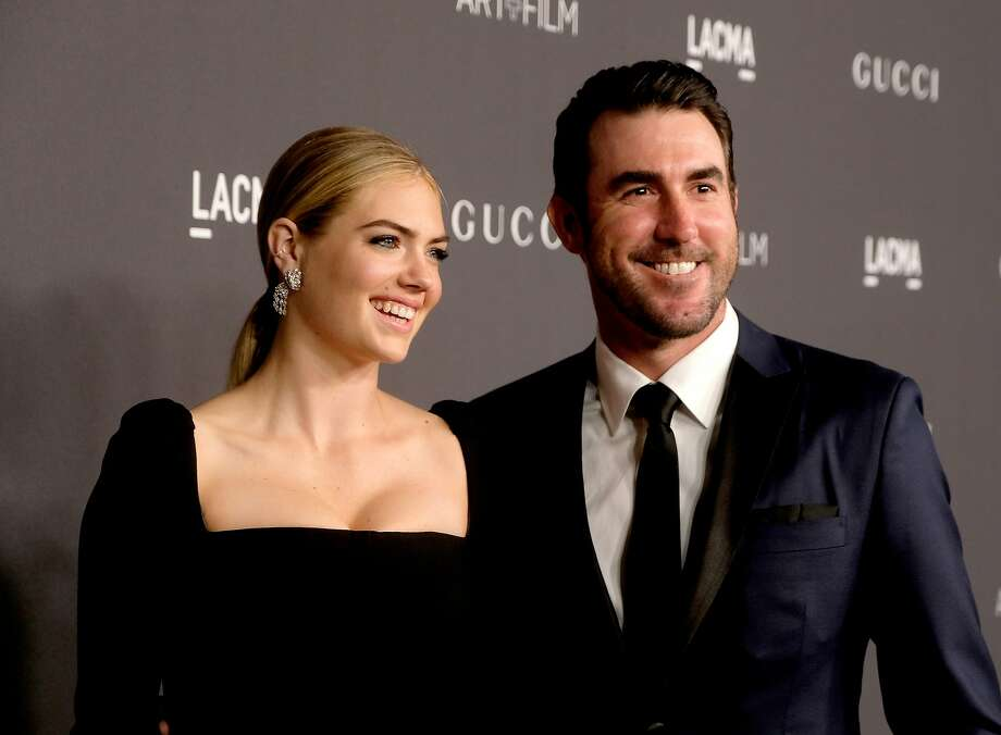 Astros pitcher Justin Verlander and supermodel Kate Upton  >>> Keep clicking through to see the rest of Houston's 30 power couples you should know about. Photo: Frazer Harrison