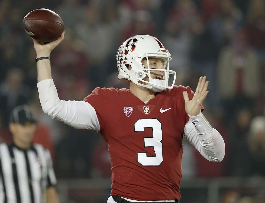 CORRECTS DATE - Stanford quarterback K.J. Costello throws a pass against Oregon State in the first half during an NCAA college football game on Saturday, Nov. 10, 2018, in Stanford, Calif. (AP Photo/Tony Avelar) Photo: Tony Avelar / Associated Press 2018