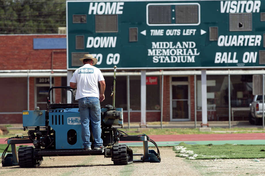 """Midland ISD leaders on Monday will discuss and possibly vote on re-naming Midland Memorial Stadium """"James 'Doc' Dodson Memorial Stadium.  Photo: James Durbin / ? 2014 Midland Reporter Telegram. All Rights Reserved."""