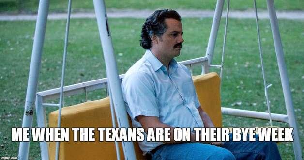 Houston Texans Week 10: Bye week The Texans entered the bye week at 6-3. Photo: Matt Young