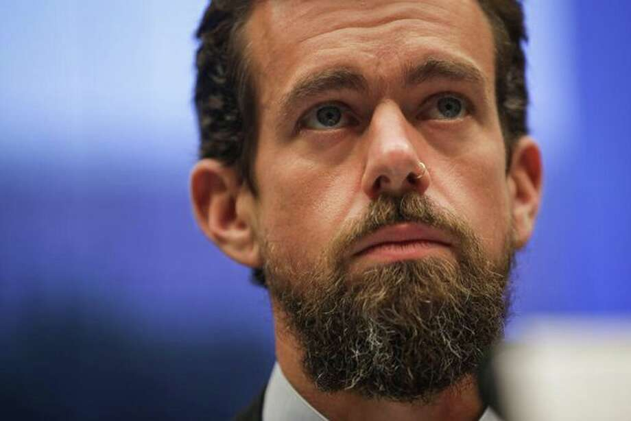 Social media has reacted strongly to Jack Dorsey's trip to Myanmar.  Photo: Drew Angerer / Getty Images