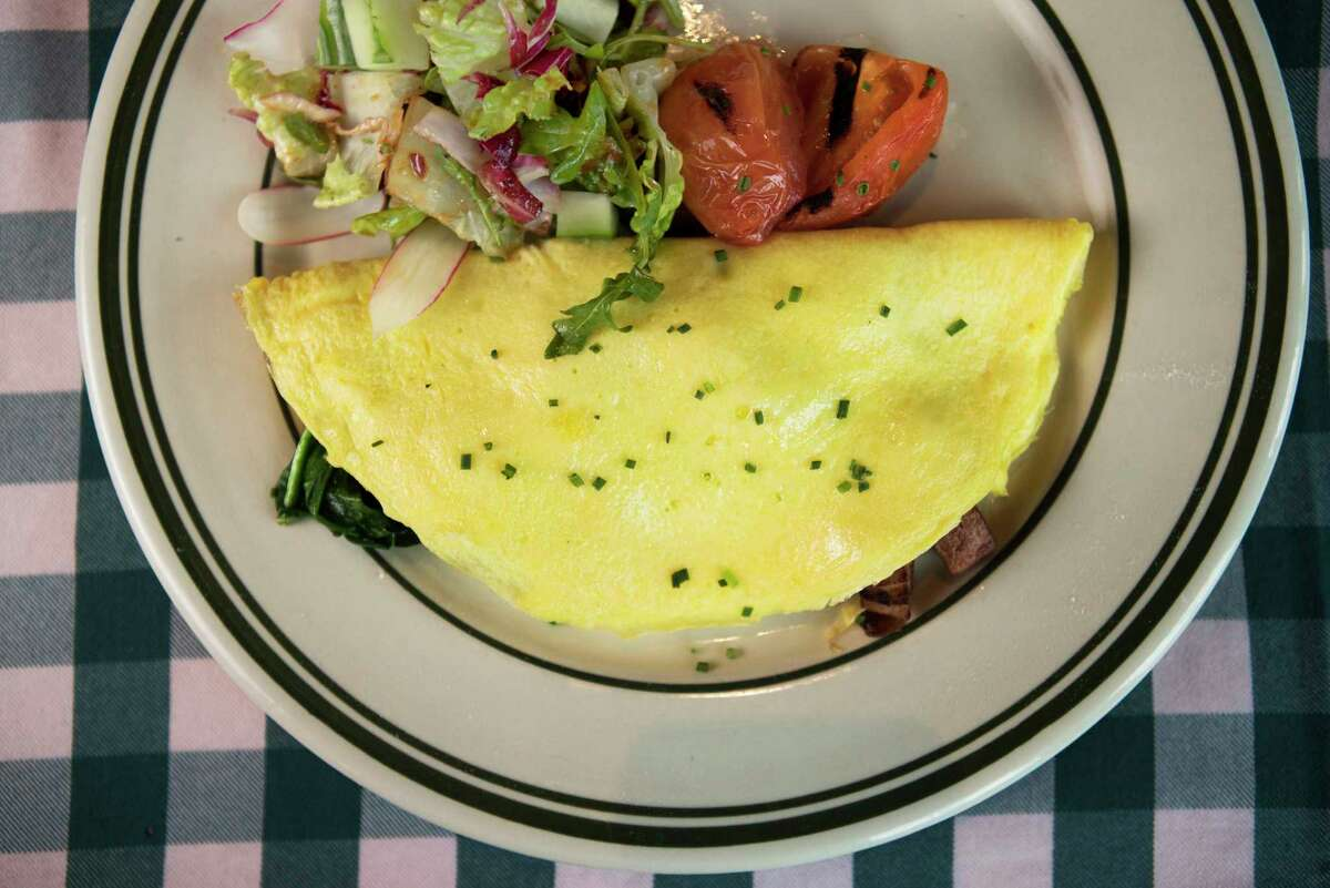 All-day omelet with salad at B.B. Lemon, 1809 Washington.