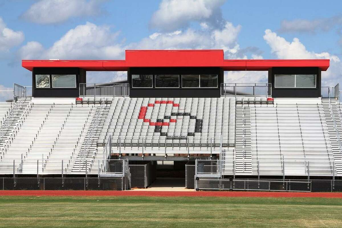 Construction on Trojan Stadium was completed over the summer. Its construction began last spring as one of the first projects because it didn't disrupt classes.