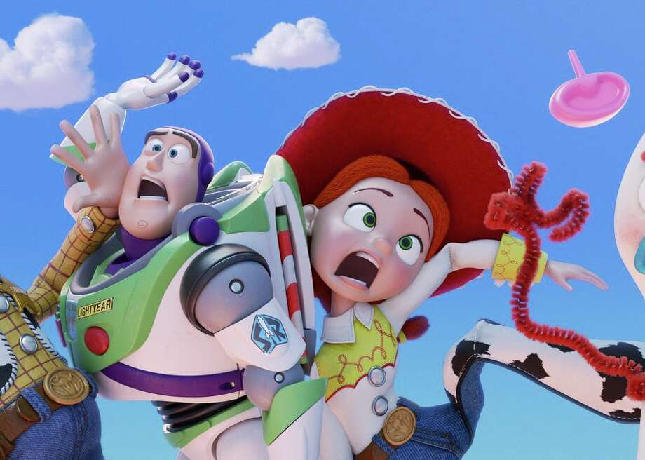 June Toy Story 4 reunites Woody, Buzz and their fellow playthings, with new toy Forky along for the ride. Photo: CBSI/CNET