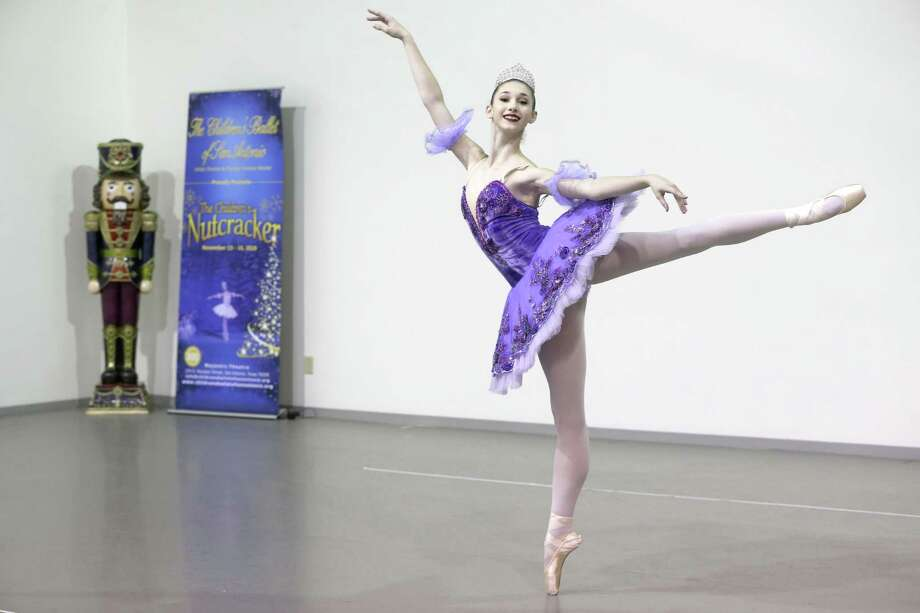 """""""The Children's Nutcracker"""": The Children's Ballet of San Antonio production presents a cast of youth dancers performing a Tricentennial version of the story, including mariachis and a posada. 7 p.m. Nov. 15-16, Majestic Theatre, 224 E. Houston St. $22 to $32 at the box office and at ticketmaster.com. Info, 210-462-7660; childrensballetofsanantonio.org. Photo: William Luther /San Antonio Express-News / © 2018 San Antonio Express-News"""