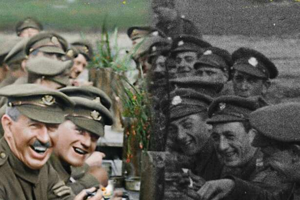 Peter Jackson brings WWI to life in the documentary 'They Shall Not Grow Old'