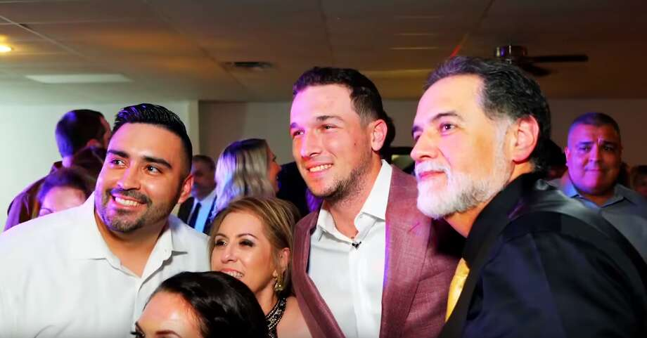 PHOTOS: Astros' Alex Bregman's greatest on-field and off-field momentsAlex Bregman has been spending part of his offseason performing random acts of kindness in Houston for a new YouTube series. In his latest video, he crashes a Cypress couple's wedding.  >>> See some of Bregman's best moments in Houston  Photo: Youtube
