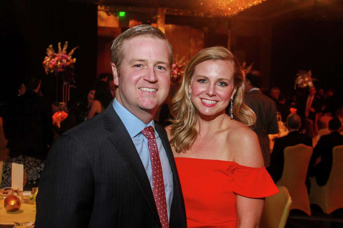 John and Natalie McElroy at UTHealth's Constellation Gala.