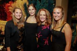 EMBARGOED FOR REPORTER UNTIL NOV 12 Reilly Cizik, from left, Cameron Cizik, Melanie Cizik and McKenzie Cizik at UTHealth's Constellation Gala.