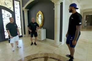 """DeMarcus Cousins shows off his Las Vegas mansion on an episode of Animal Planet's """"Tanked."""""""
