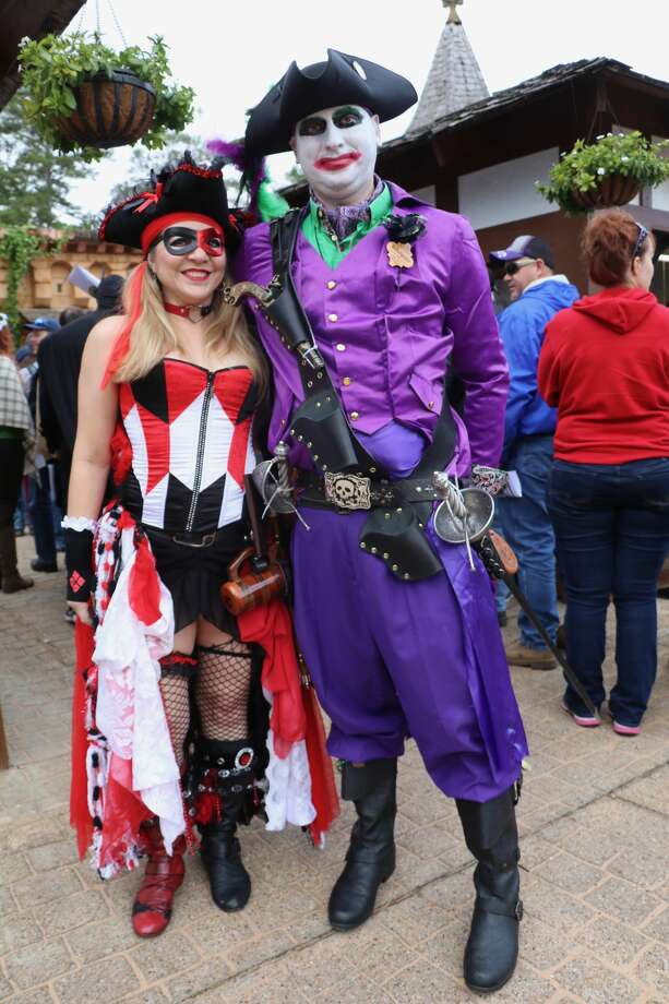 PHOTOS: Cosplay comes tothe Texas Renaissance Festival  This past weekend the Texas RenFest once again welcomed patrons to don their best cosplay gear for its special Heroes & Villians themed days. >>>See who showed up this past weekend...  Photo: Texas Renaissance Festival
