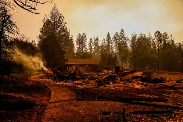 Camp Fire: Oroville Dam officials keep close watch on