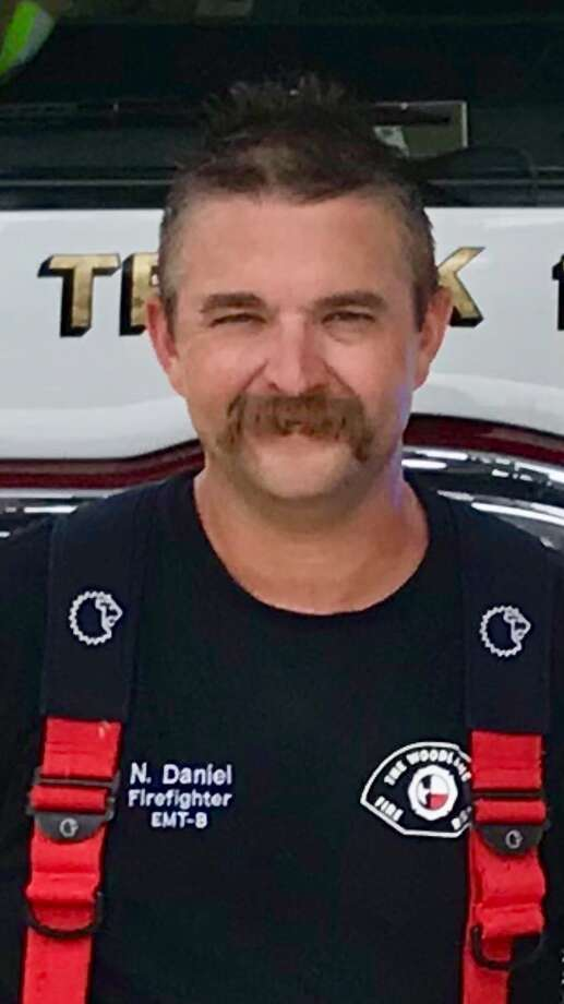 This photograph of Nicolas Daniel, a firefighter with The Woodlands Fire Department, was provided to The Chronicle on Monday by The Woodlands Township. Daniel was killed in a struggle on Sunday at a rural Montgomery County home. The incident is under investigation. Photo: Photograph/Courtesy The Woodlands Township