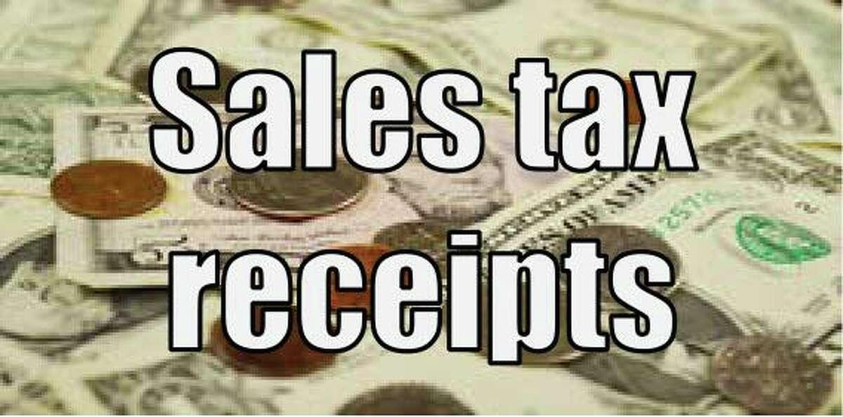 Sales tax receipts