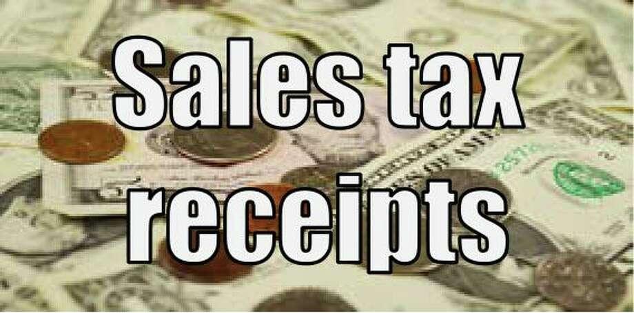 Sales tax receipts Photo: Staff / Staff