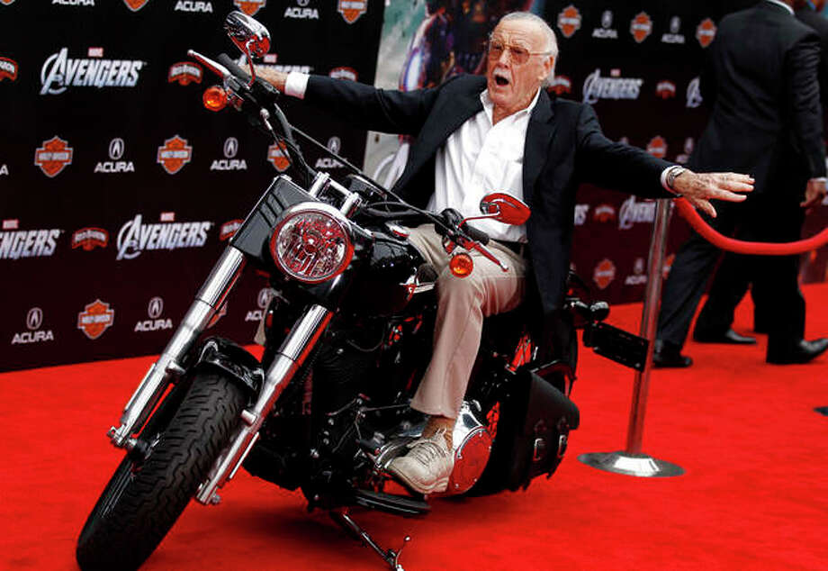 "Stan Lee arrives at the premiere of ""The Avengers"" in Los Angeles in 2011. Comic book genius Lee, the architect of the contemporary comic book, has died. He was 95. The creative dynamo who revolutionized the comics by introducing human frailties in superheroes such as Spider-Man, The Fantastic Four and The Incredible Hulk, was declared dead Monday, Nov. 12, 2018, at Cedars-Sinai Medical Center in Los Angeles, according to Kirk Schenck, an attorney for Lee's daughter, J.C. Lee. Matt Sayles 