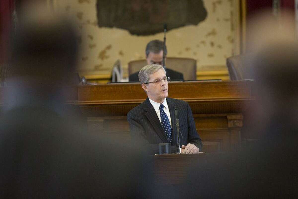 Rep. Phil King, R-Weatherford, has withdrawn his candidacy for House speaker.