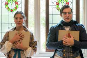 "Alyx Gonzales and Hunter Wulff will reprise their roles in  ""Miss Bennet: Christmas at Pemberley"" in November and December. It was a hit last year when it debuted."