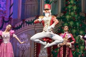 "Moscow Ballet's ""Great Russian Nutcracker"":  The production features top-flight dancers from Russia and plenty of visual punch, including hand-painted sets.  7 p.m. Dec. 26 and 3 and 7 p.m. Dec. 27, Majestic Theatre, 224 E. Houston St. $32.50 to $102.50 at the box office and at ticketmaster.com. Info, majesticempire.com."