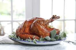 Stuffed Roasted Turkey from chef Drake Leonards of Eunice