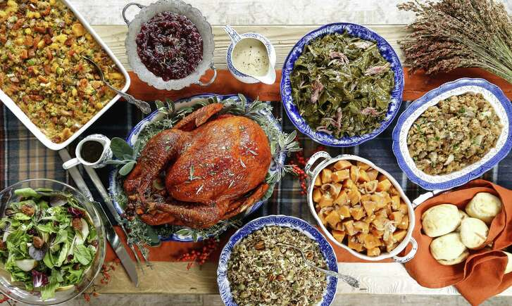 Our Thanksgiving table this year delivers big on Gulf Coast flavors.