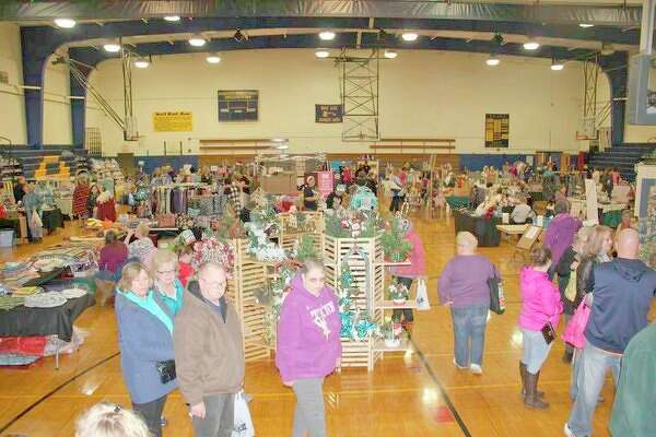 More than 1,000 shoppers attended this year's Mistletoe Market in Bad Axe. (Bradley Massman/Huron Daily Tribune)