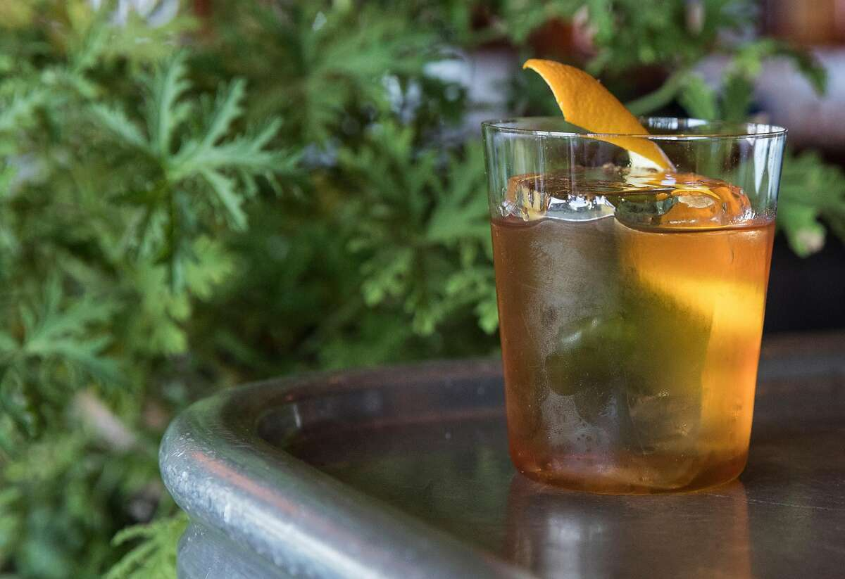 The Don Lockwood cocktail photographed on the bar at Angler along the Embarcadero in San Francisco, Calif. Wednesday, Nov. 7, 2018.