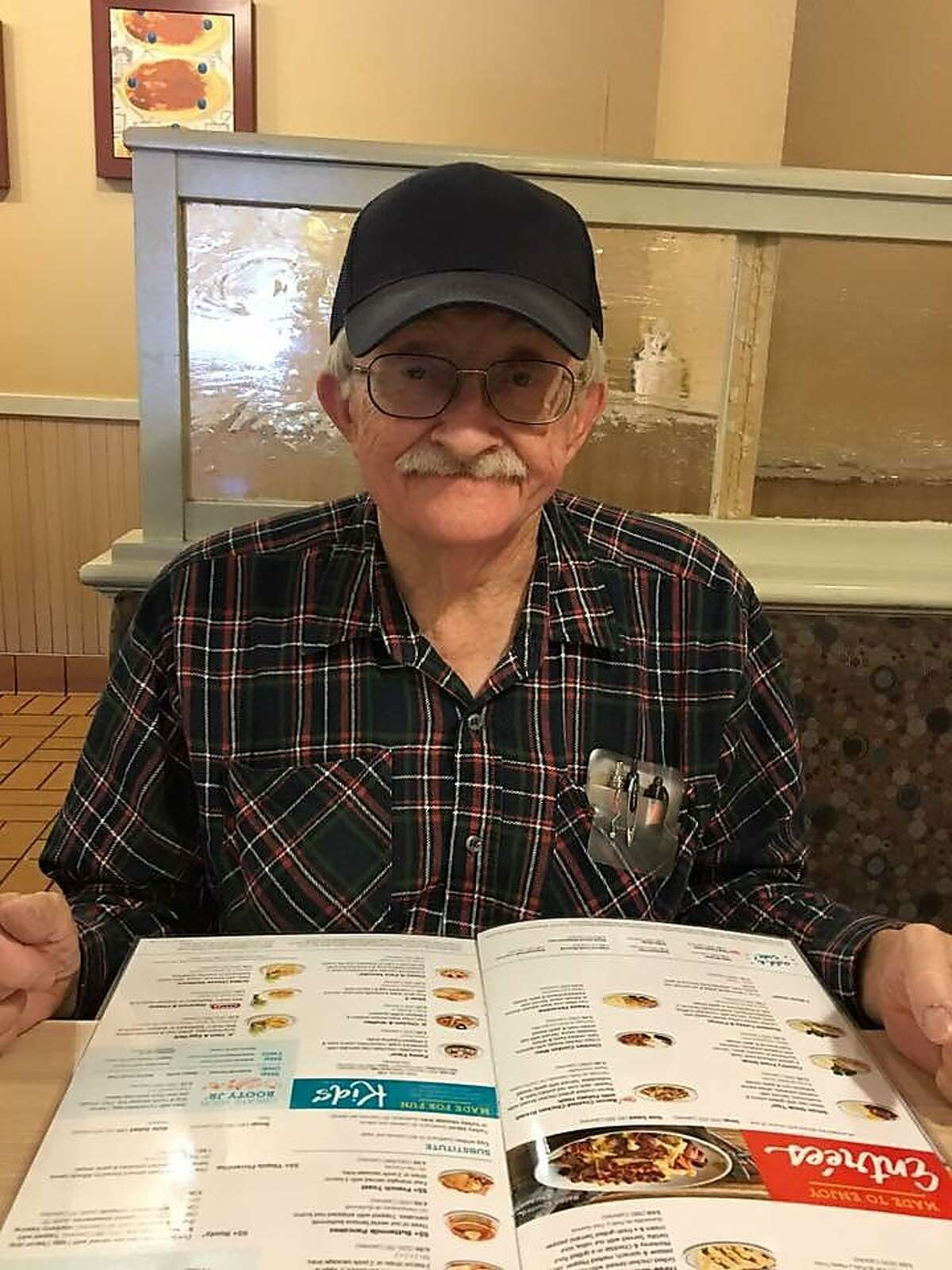 John Digby, 78, went missing after the Camp Fire destroyed his mobile home in Paradise on Thursday.