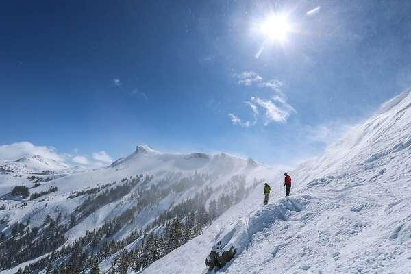 Winter scenes from Kirkwood Mountain Resort.