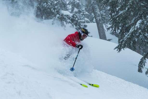 Winter scenes from Sierra-at-Tahoe Resort.