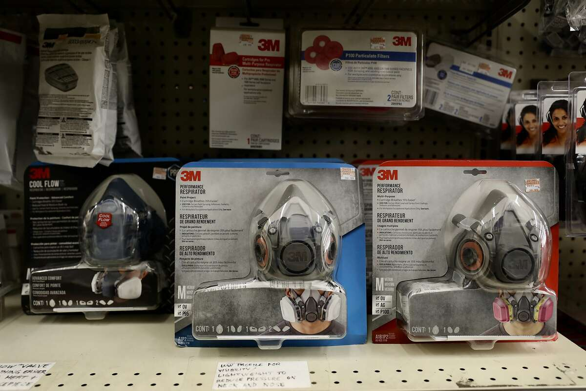 Ace Hardware carries air masks ranging from $3.28 to $39.99 at 1221 Grand Ave. in Piedmont, Calif., on Friday, November 9, 2018.