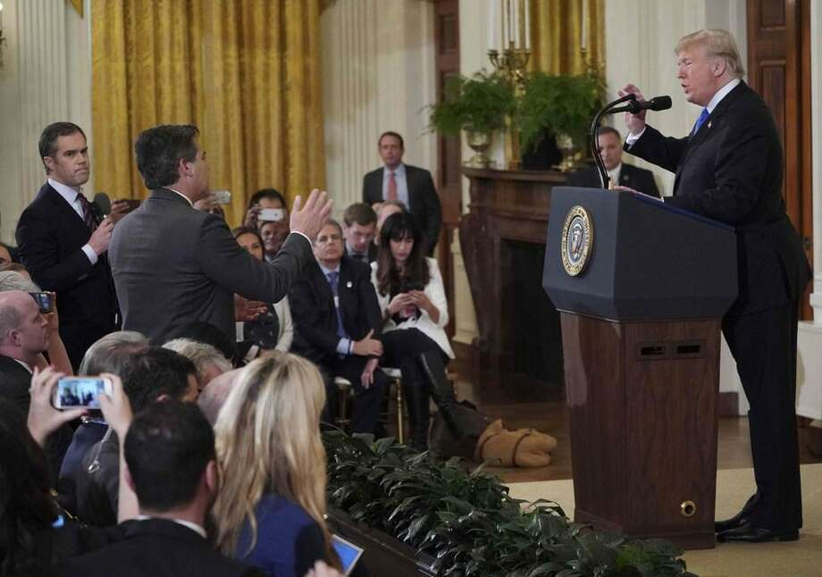 President Trump's insecurities were on full display when he attacked CNN White House correspondent Jim Acosta at a news conference last week, after the election. For the first time, the House will be able to hold Trump accountable. Photo: /