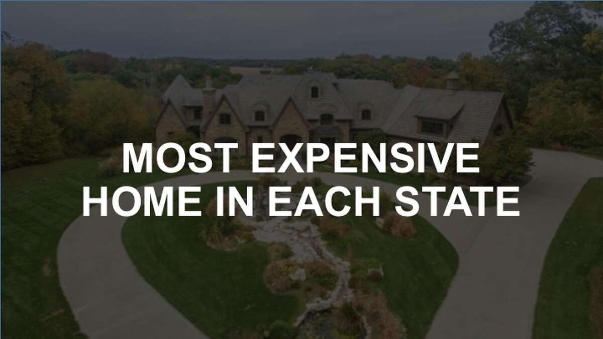 Check out the gallery to see the most expensive home in each state.