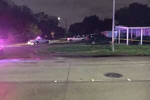 Houston police detectives are investigating a deadly shooting Monday in the northwest side.